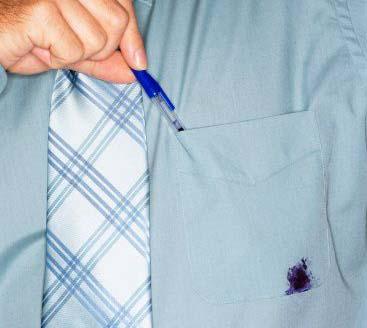 så får du enkelt bort bläckfläckar från kläderna