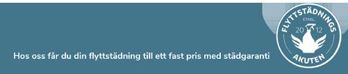 flyttstädningsakuten i Linköping slogan